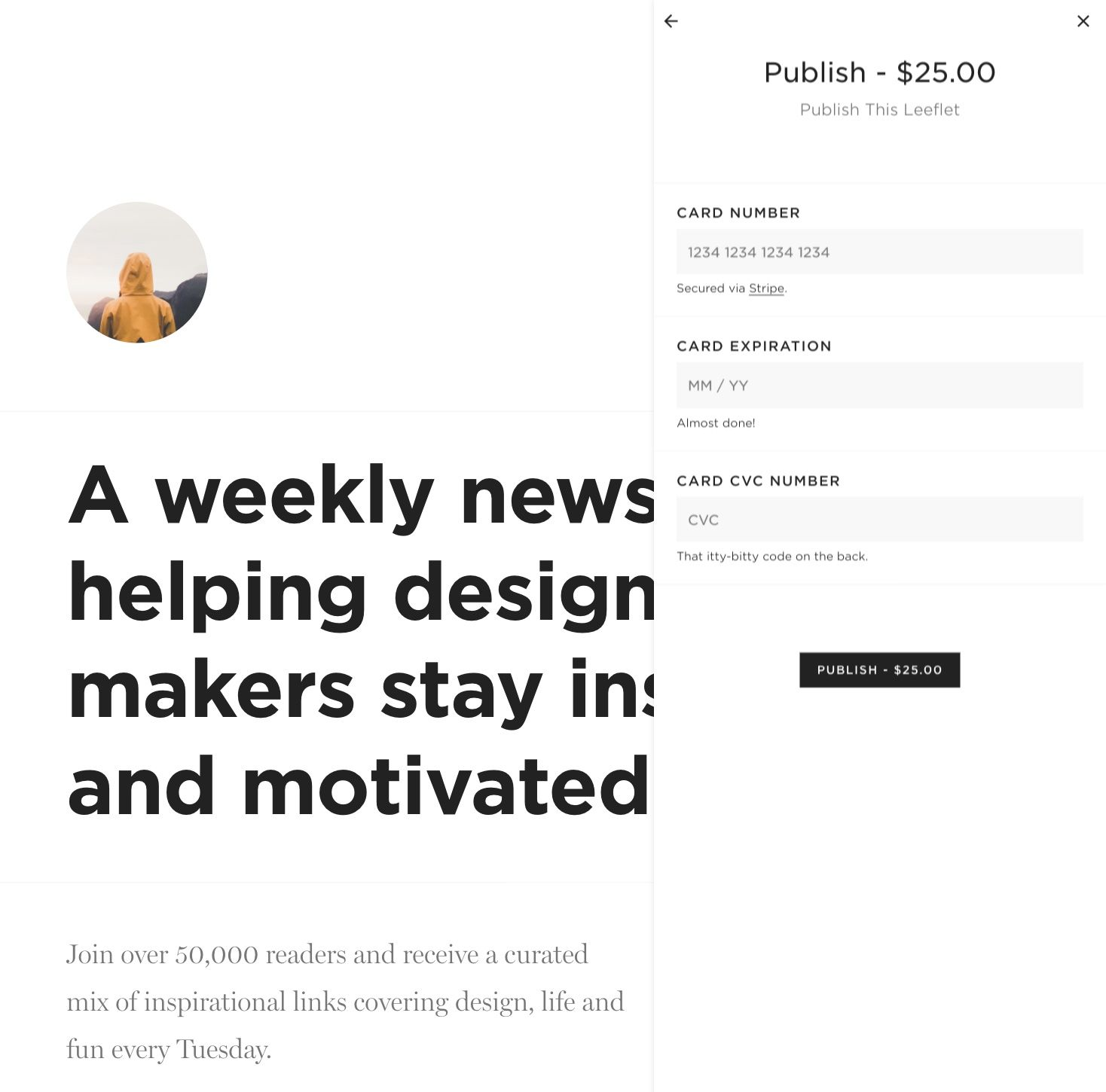 Pay to Publish